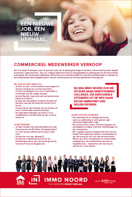 job advertentie